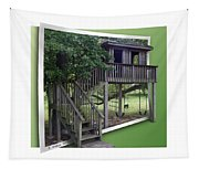 Treehouse Playground Tapestry