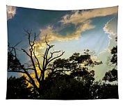 Treeline Silhouette Tapestry