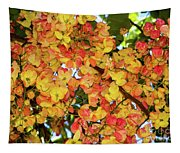 Trees And Flowers In Hawaii Tapestry