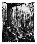 Trees At The Entrance To The Valley Of No Return Tapestry