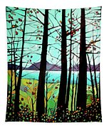 Trees In Fall Tapestry