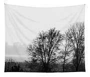 Trees In The Mist Tapestry