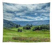 Trees In The Valley Tapestry