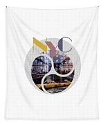 Trendy Design New York City Geometric Mix No 2 Tapestry