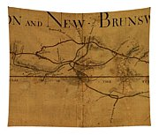 Trenton New Brunswick Turnpike 1800 Tapestry