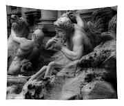Trevi Fountain Detail 2 Tapestry