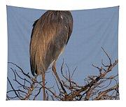 Tri Color Heron Tapestry