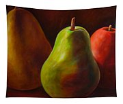 Tri Pear Tapestry