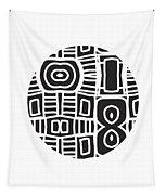 Tribal Ball- Art By Linda Woods Tapestry