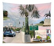 Tribute To Columbia Sc Tapestry