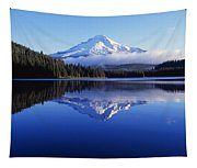 Trillium Lake With Reflection Of Mount Tapestry