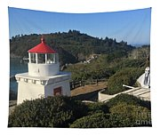 Trinidad Head Memorial Lighthouse, California Lighthouse Tapestry