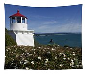 Trinidad Lighthouse California Tapestry