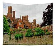 Trinity Hall From The Backs. Cambridge. Tapestry