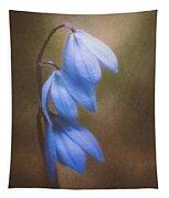 Trio Of Spring Flowers Tapestry
