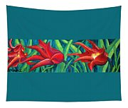Triple Tease Tulips Tapestry