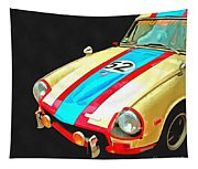 Triumph Gt Pop Art Tapestry