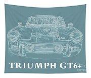 Triumph Gt6 Plus Tapestry