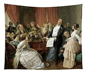 Triumph Of A Tenor At A Musical Matinee Tapestry