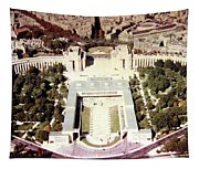 Trocadero Palais De Chaillot 1955 Tapestry