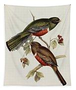 Trogon Collaris Tapestry