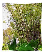 Tropical Bamboo Tapestry