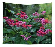 Tropical Flower Flow Tapestry