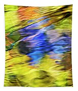 Tropical Mosaic Abstract Art Tapestry