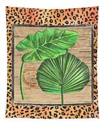 Tropical Palms 1 Tapestry