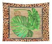 Tropical Palms 2 Tapestry
