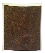 Tropical Palms Canvas Bronze - 16x20 Hand Painted Tapestry