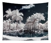 Tropical Paradise Infrared Tapestry