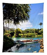 Tropical Plantation - Maui Tapestry