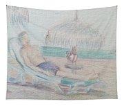 Tropical Repose Tapestry