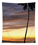 Tropical Silhouette Tapestry