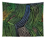 Tropical Striations Tapestry