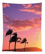 Tropical Sunrise Tapestry