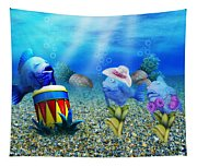 Tropical Vacation Under The Sea Tapestry