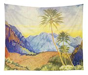 Tropical Vintage Hawaii Tapestry