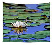 Tropical Water Lily Tapestry