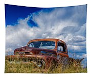 Truck Heaven Tapestry