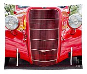 Truck Red Tapestry