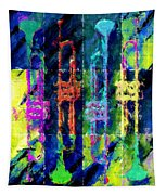 Trumpets Abstract Tapestry