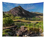 Tryfan Mountain Valley Tapestry