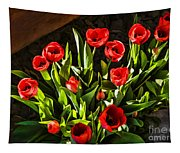 Tulip Beauties Tapestry