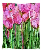Tulip Bloomies 1 - Pink Tapestry