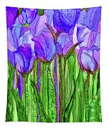 Tulip Bloomies 1 - Purple Tapestry