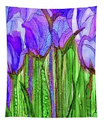 Tulip Bloomies 2 - Purple Tapestry