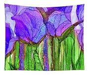 Tulip Bloomies 4 - Purple Tapestry