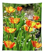Tulip Bouquet Tapestry